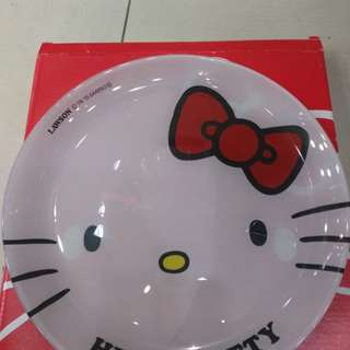 Hello Kitty 玻璃碟