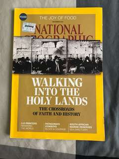 National Geographic - Walking into the Holy Lands : The Crossroads of Faith and History