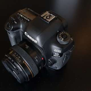 Canon 5D mk4 body only