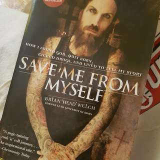 Save Me From Myself; Brian Welch