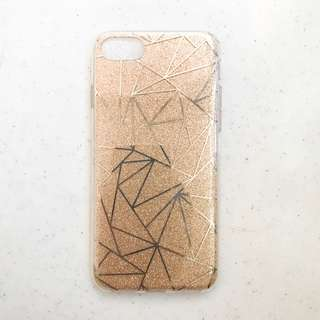 Iphone 7 Glittered Symmetric Case