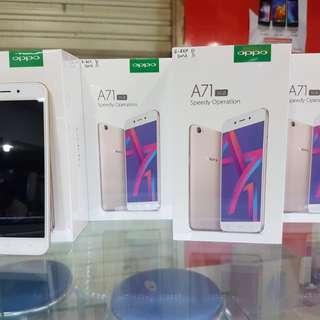 Seri Baru Oppo A71 Ram 3gb Ayo Serbu Cicilan/Kredit Cepat Dan DP Murah