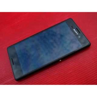 黑色 Sony Xperia M4 保存好機況佳 台哥大過保固2016/8 原廠盒裝※換機優先