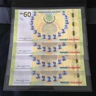 4run (0035601-0035604) RM60 Note
