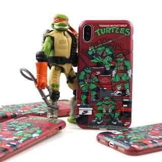 忍者龜iPhone手機殼,軟殼
