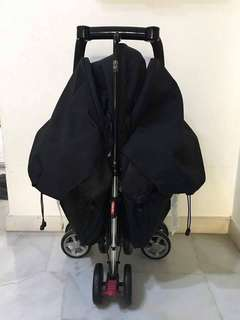 COMBI Spazio Duo Twin Stroller