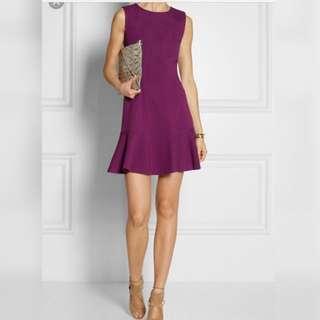 DVF Diane Von Furstenberg Stretchy Jersey Mini Dress
