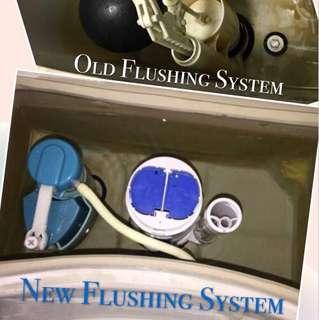 Toilet Bowl Flushing System