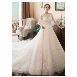2018 new spring arrival wedding gown