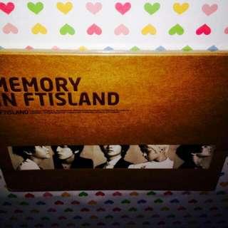 FTISLAND-Memory in FTISLAND (Remake Album) CD(Sealed)