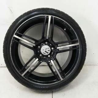 18 '' Sport Rim With Tyre 5x112 (SR987)