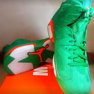 Air Jordan 6 Gatorade Green