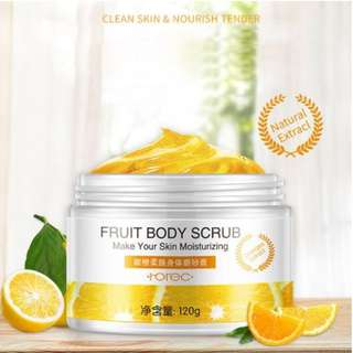 Fruity body scrub [Citrus]