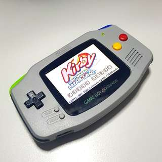 Super Famicom Theme Gameme Boy Advance