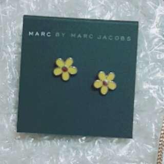 Marc Jacobs 耳環 yellow  daisy