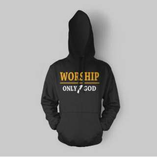 [In Stock] Worship Only 1 God Hoodie
