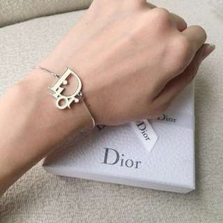 AUTHENTIC DIOR Oblique Bracelet