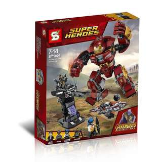 SY1001 Infinity War The Hulkbuster Smash-up