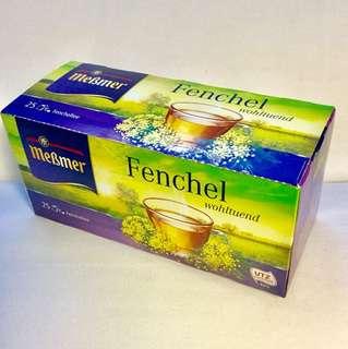 Mebmer德國🇩🇪茴香疏緩茶.自古埃及人已對茴香的高消化率表示讚賞!味道清香並略帶微甜的香氣,小朋友也可飲用.25包