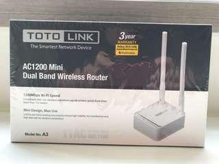 全新TOTO LINK AC1200 Mini Dual Band Router