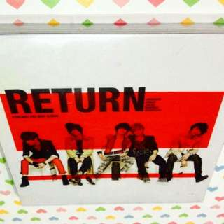 FTISLAND-Return (3rd Mini Album) CD (Sealed)