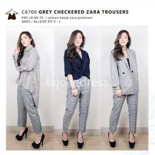 Checkered Pants (Zara lookalike)