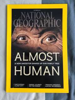 National Geographic - Almost Human : A New Ancestor Shakes Up our Family Tree