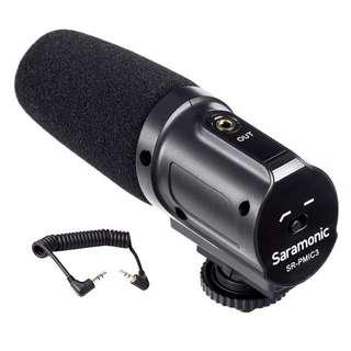 Saramonic SR-PMIC3 Surround Recording Microphone with Integrated Shockmount