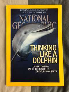 National Geographic - Thinking Like A Dolphin : Understanding one of the Smartest Creatures on Earth