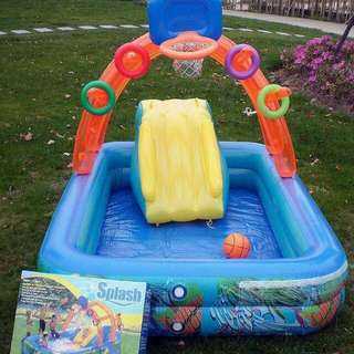 Splash Inflatable pool