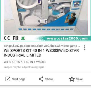 Nintendo Wii 40 in 1 sports kit Industrial Limited