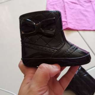 Mothercare baby boot shoes
