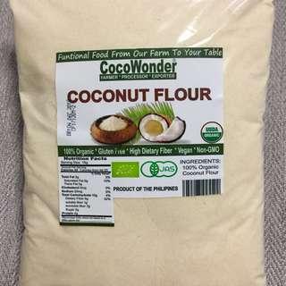 Organic Coconut Flour 1kg (Keto / Vegan / Gluten Free)