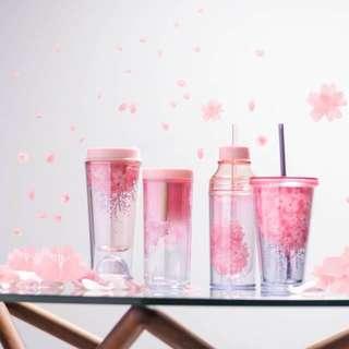 Starbucks Cherry Blossom Pink Bottle