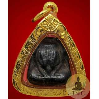 Phra Pidta Est. BE245X concreated  Est. released from the temple BE2484-2487 Luang Pu Eiam Wat Nang