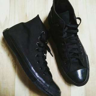 Converse ct high monoblack size 43
