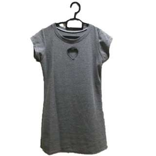 Cotton Grey Dress #Bajet20