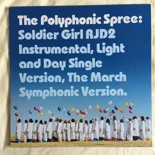 "The Polyphonic Spree - Soldier Girl 12"" Single Vinyl Record"
