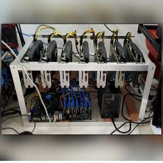 MUST GO - 7 x RX580 8GB Mining Rig (210 Mh/s) from CryptoMouse (Free Delivery & Setup)
