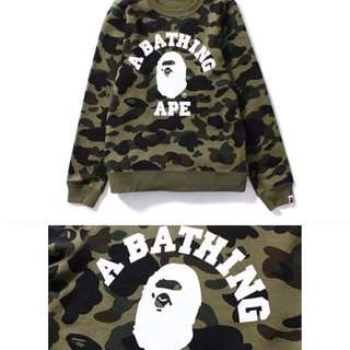 A bathing ape 1st camo college