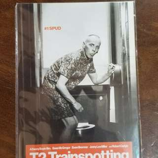 T2 Trainspotting Postcard set