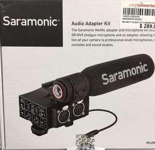 Saramonic Mixmic Shotgun mic