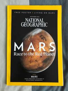 National Geographic -MARS : Race to the Red Planet