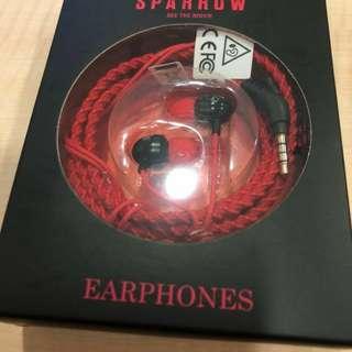 Red Sparrow Earpiece / Earphone