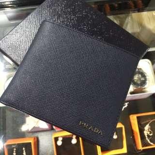 Prada saffiano man wallet