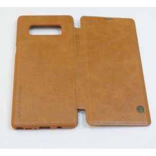 Nillkin Qin Leather Case for Samsung Note 8 (Brown)