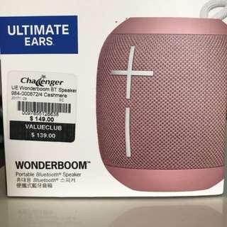 UE Wonderboom portable Bluetooth speaker