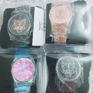 Kenzo經典classic logo手錶