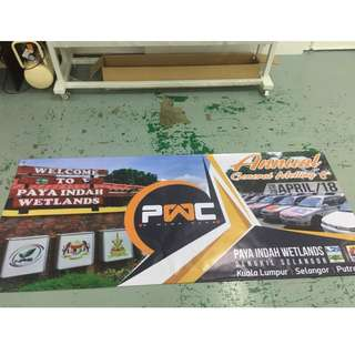 Banner Printing for Club Meeting