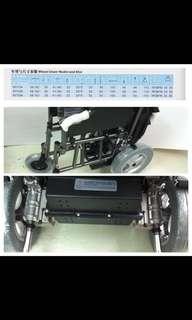 全新電動輪椅